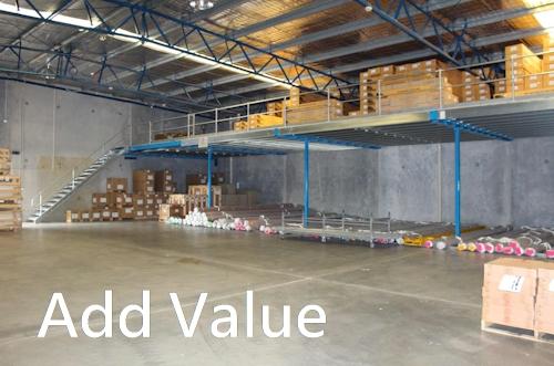 Mezzanines add value